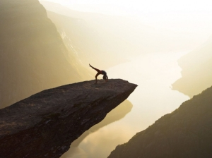 Norway: Trolltunga which means  Troll's Tongue