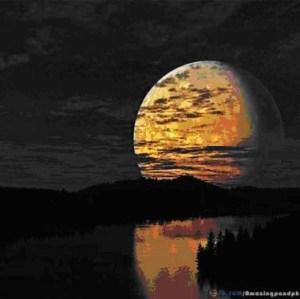 solstice et pleine lune